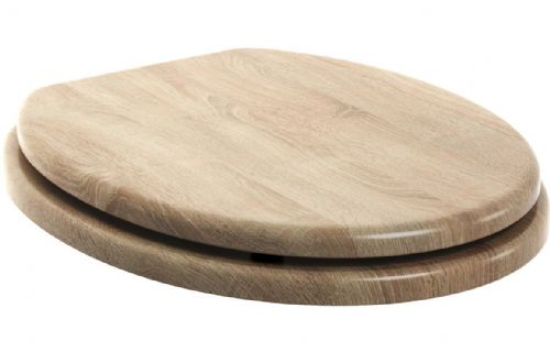 Bathrooms To Love Natural Oak Wooden Toilet Seat - Soft Close